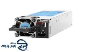 منبع تغذیه اچ پی ای مدل 500W Flex Slot Platinum Hot Plug