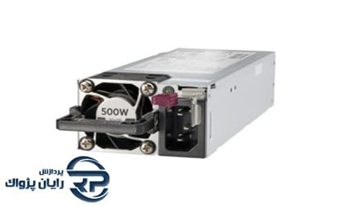 منبع تغذیه اچ پی ای مدل 500W Flex Slot Platinum Hot Plug Low Halogen