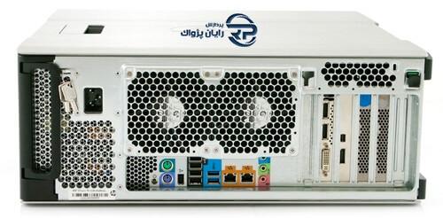 نمای جلوی سرور ورک استیشن اچ پی Z620
