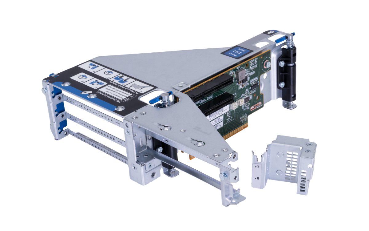رایزر کارت اچ پی ای مدل DL380 Gen9 Secondary 3 Slot GPU Ready