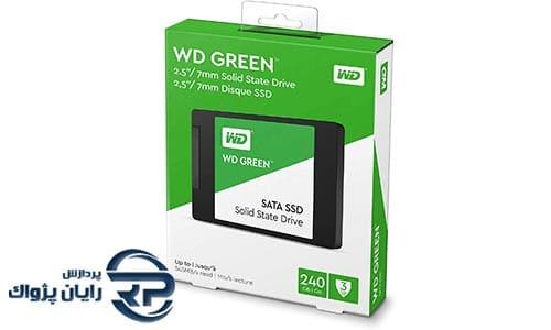 اس اس دی وسترن دیجیتال مدل Green ظرفیت 240GB