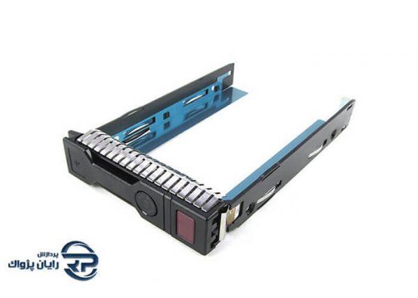 کیج هارد سرور اچ پی HP ProLiant LFF SATA SAS Drive Tray Caddy (کیج هارد سرور HPE مدل 3.5 اینچ G8-G9-G10) با اسپیر پارت 651314-001