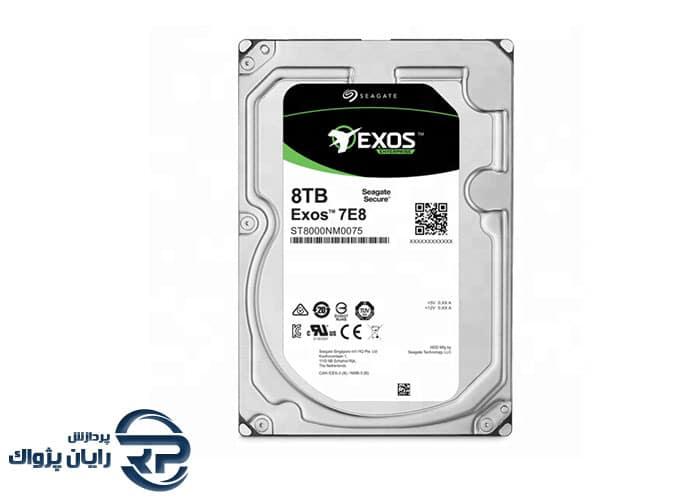 هارد سیگیت EXOS ST8000NM0075 ظرفیت 8TB