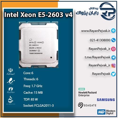 پردازنده اینتل E5-2603v4