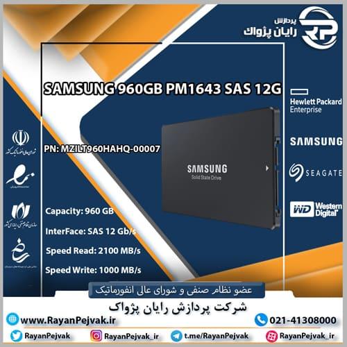 اس اس دی سامسونگ PM1643