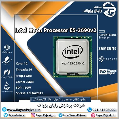پردازنده اینتل Xeon E5-2690v2