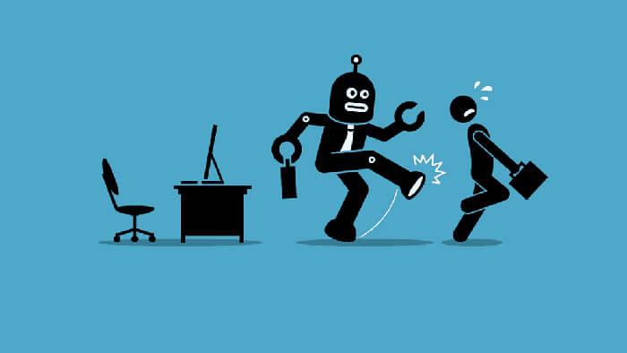 خطر از بین رفتن شغل ها توسط هوش مصنوعی