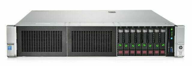 فروش ویژه سرور اچ پی DL380 G9 8SFF USED